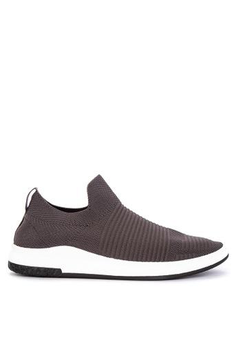 Mendrez grey Rencio Sneakers 3B3BDSHAB6D06EGS_1