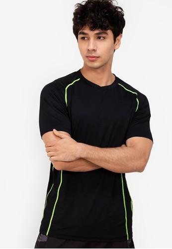 ZALORA ACTIVE multi Contrast Stitch T-Shirt ECB98AAAC63222GS_1