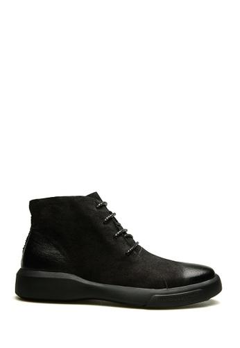 Twenty Eight Shoes black All-Match Waxed Chukka Boots VM12697 98CC6SH9B6EC4FGS_1