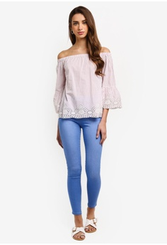 a4213d49bde7 Dorothy Perkins Ice Blue Eden Jeans (Short Fit) S  53.90. Available in  several sizes