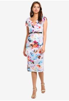 72d5b99e7e34 55% OFF Little Mistress Blur Print Bodycon Dress RM 305.00 NOW RM 136.90  Sizes 6 8