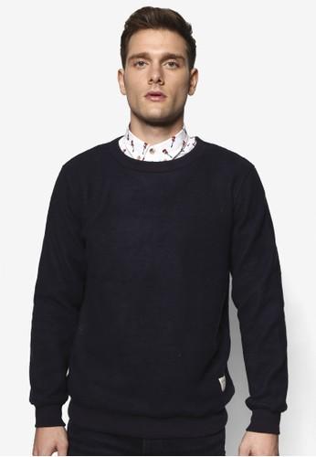 Fuzz 簡約圓領esprit 品牌長袖衫, 服飾, 外套