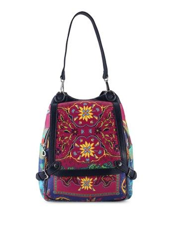 Desigual multi Paisley Backpack D98AAACD57A34CGS_1