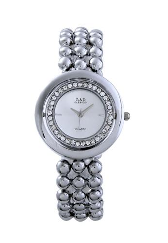 Sk Time Watch Shop silver Japan Design Silver Plating Lady Fashion Bracelet Crystal Watch SK518AC99ACMPH_1