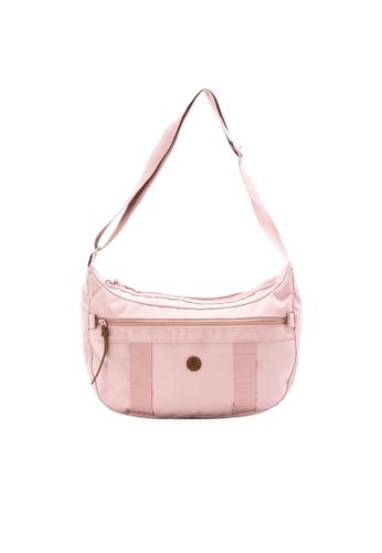 MORAL pink Napier Satchel - Medium - Dusty Pink 48AFEAC982AA40GS_1