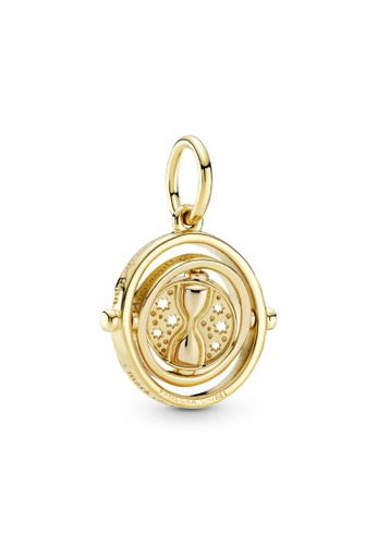 PANDORA gold Pandora Harry Potter, Spinning Time Turner Pendant F820CAC9947A92GS_1