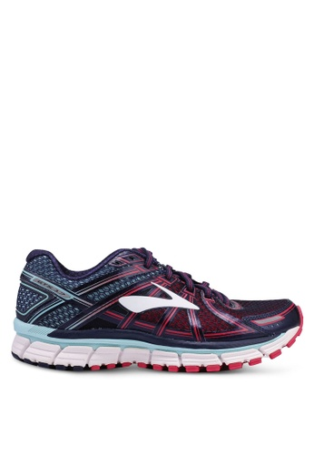 Brooks blue Adrenaline GTS 17 Shoes 6B457SH38CC0E9GS_1