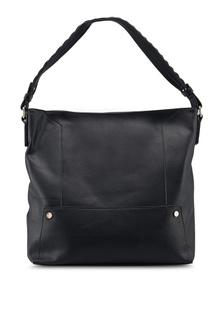 61768007a067 ... Black Scallop Strap Hobo Bag Dorothy Perkins Black Scallop ...