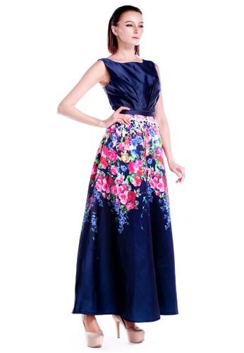 a41e37adb837 Buy DreamTales Wardrobe Botanical Evening Dress Online   ZALORA Malaysia