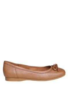 Hush Puppies Sepatu Flat Wanita Muri Callies - Tan
