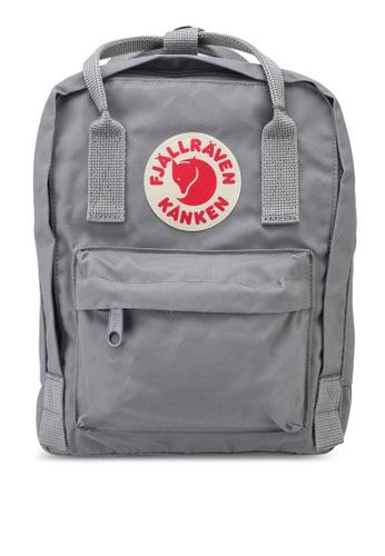 Fjallraven Kanken grey Kanken Mini Backpack 1A719ACBE006E4GS_1