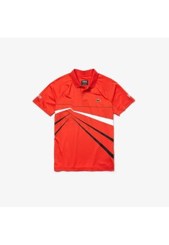 900107d8 Buy Lacoste Men's Lacoste SPORT Novak Djokovic Collection Graphic ...