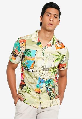 Desigual multi Hawaiian Printed Shirt C6BB2AAD65AA10GS_1