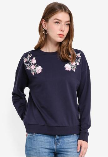 OVS navy Women's Sweatshirt 51491AA9EC10F9GS_1