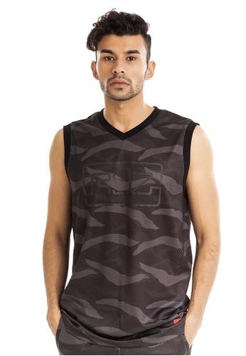 RYZ multi RYZ Basketball Sleeveless Camo Jersey. 395E4AAA05663AGS_1