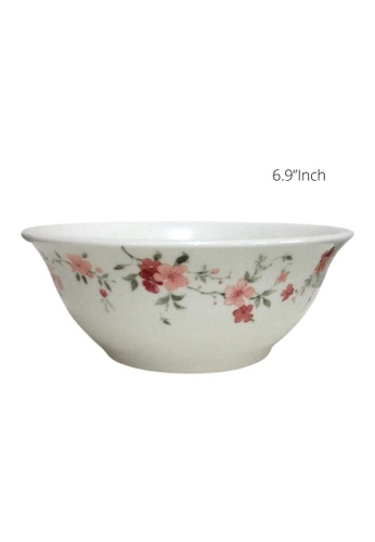 "Claytan Florid - 6.9"" Oriental Bowl C91DCHLB6FDE1DGS_1"