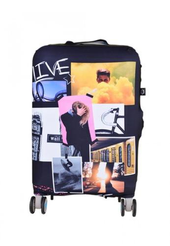 BG Berlin multi 007 Luggage Cover Small AA555ACEB698E8GS_1