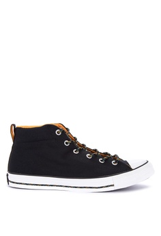 21ae8768e58d Converse black Chuck Taylor All Stars Street Mountain Club Sneakers  94C8CSH38756EEGS 1