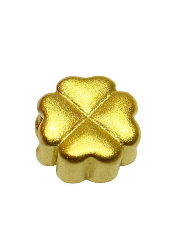 LITZ gold [SPECIAL] LITZ 999 (24K) Gold Four Leaf Clover 四叶草  EPC0978 (0.12g+/-) 62FD7ACFD31E37GS_1