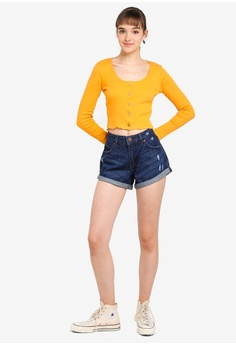 02ced8f4424 Cotton On Mid Rise Saturday Denim Shorts S  34.99. Sizes 4 6 8 10 12