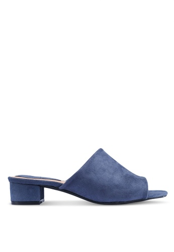 Noveni 藍色 休閒高跟鞋 72997SHC76F609GS_1