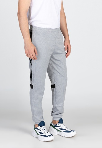Ninety Nine Point Nine Boutiq grey Classic Jogger Pants 7ADE2AA4D80A2AGS_1