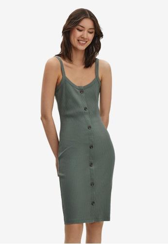 Vero Moda green Helsinki Dress 9B464AAB4428F2GS_1