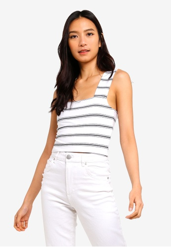 Cotton On white Molly Wide Strap Tank Top 1FDB1AA5A4F0FCGS_1