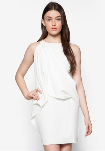 披肩巾貼身洋裝, 服esprit女裝飾, 派對洋裝