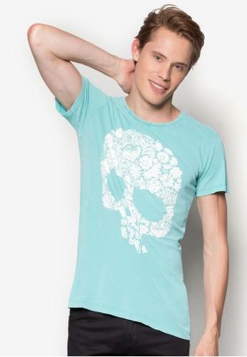 Girocolloesprit hk Con Stampa T-Shirt, 服飾, 服飾