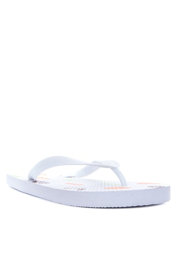 BENCH white Printed Slippers BE550SH29EJMPH_1