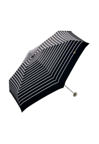 WPC black WPC Heart & Border Gold Mini Umbrella (Black) A83F3AC6471BF3GS_1