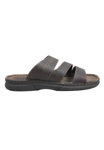 midzone brown Classic Sandals MI949SH51KJKMY_1