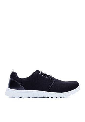Life8 black Lycra Fabric Elastic Sport Shoes-09392-Black LI283SH88GLJSG_1