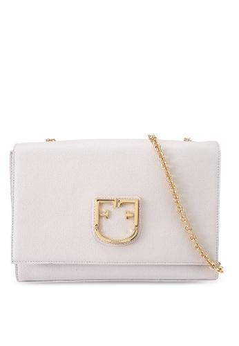 Furla beige Viva Pochette Crossbody Bag 425C9AC155D625GS_1