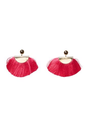 Vero Moda pink Stella Earrings 21D42AC51B2D96GS_1