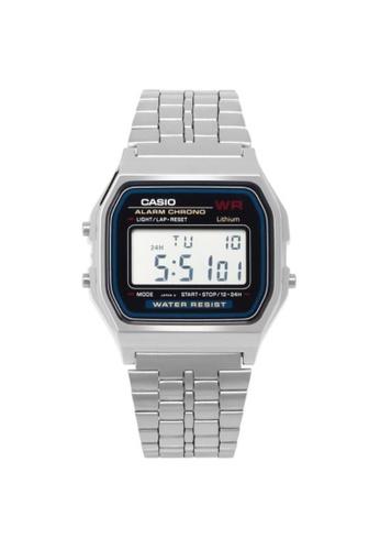 CASIO silver CASIO GENERAL A159WA-N1DF UNISEX'S WATCH AD494AC4F329ABGS_1