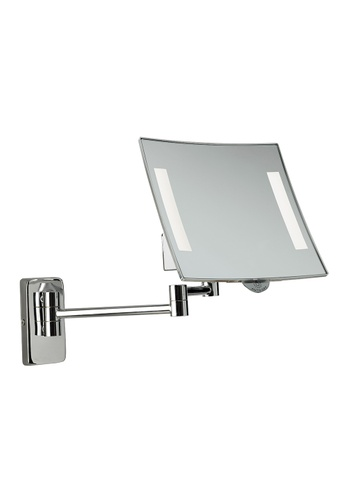 JVD JVD Lifestyle Galaxy Wall-Mount Cosmetic Mirror – Magnification 3X, Chrome finishing 2C2D6HL61DF19DGS_1