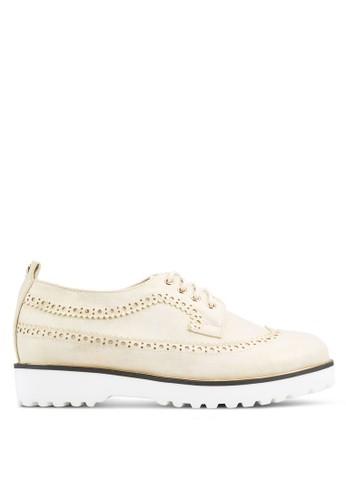 esprit 鞋BETSY 沖孔邊飾正裝鞋, 女鞋, 鞋