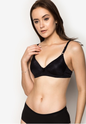 Barbizon black Padded Bra BA347US73MHUPH_1