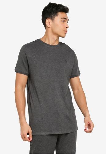 JBS of Denmark grey Basic Piqué T-Shirt 6641DAA8F70FA5GS_1