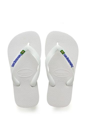 Havaianas white Havaianas Brasil Logo 001-White E11F1SH033B63EGS_1