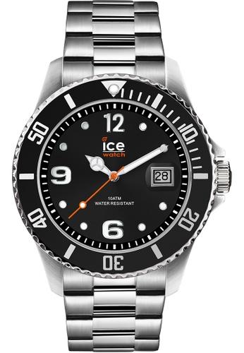 Ice-Watch black ICE steel - Black silver 0A0DBAC0B80260GS_1