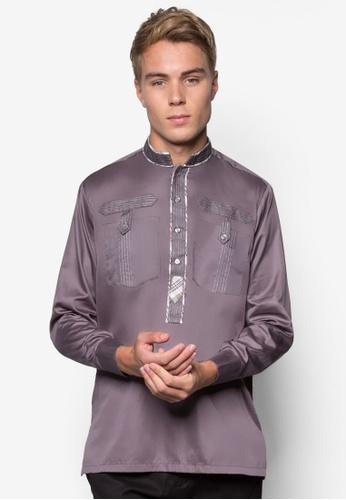 Feroze Couture grey Men Kurta FE191AA26ZYJMY_1