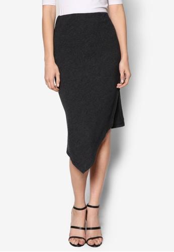Asymmetric Knit Skirt, 服飾, esprit台灣裙子