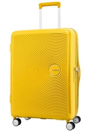 American Tourister yellow American Tourister Curio Spinner 69/25 Exp TSA E2896ACD8A7478GS_1