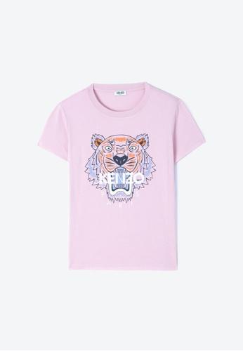 Kenzo pink KENZO TIGER T-SHIRT 45643AAEBC53E8GS_1