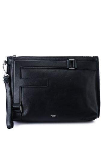 Furla black Febo Clutch A1453AC892CF2CGS_1