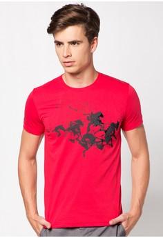 Graphic Round Neckline Shirt