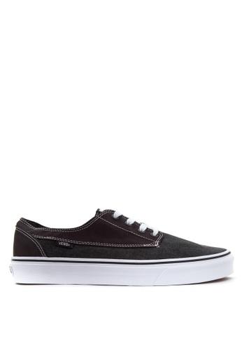 Vans black Brigata Sneakers VA142SH60QBBPH_1